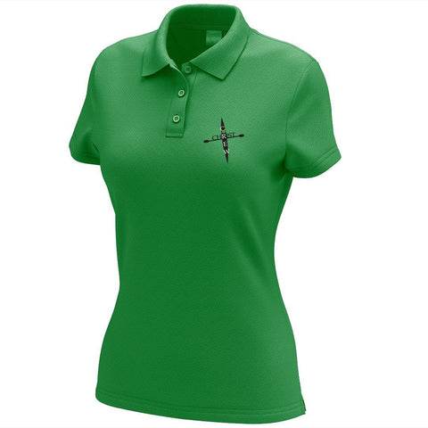 Crew 4 Christ Embroidered Performance Ladies Polo
