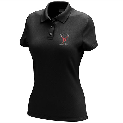 Pacific Rowing Embroidered Performance Ladies Polo