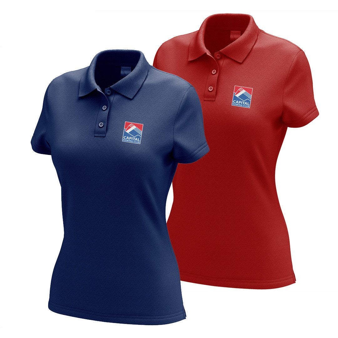 Capital Rowing Club Embroidered Performance Ladies Polo