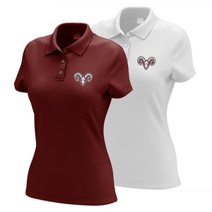 Worcester Academy Embroidered Performance Ladies Polo