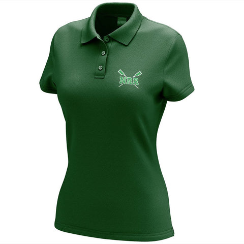 Navesink River Rowing Embroidered Performance Ladies Polo