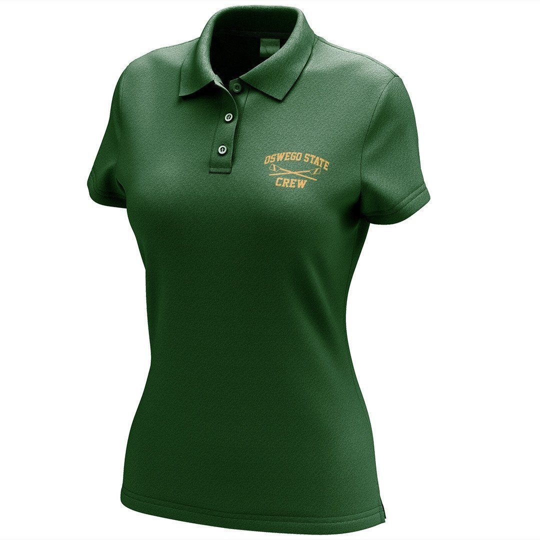 Oswego State Crew Embroidered Performance Ladies Polo