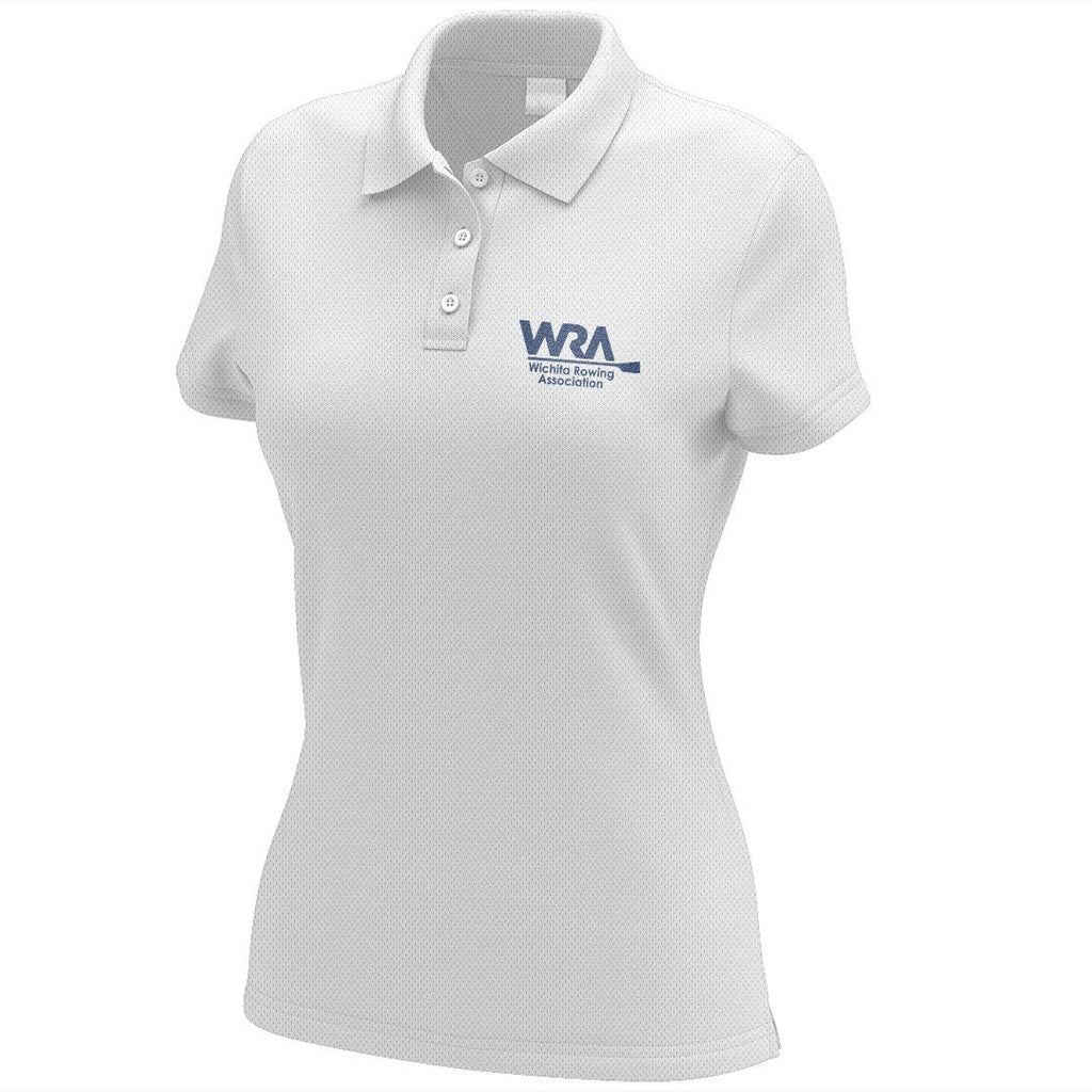 Wichita Rowing Association Embroidered Performance Ladies Polo
