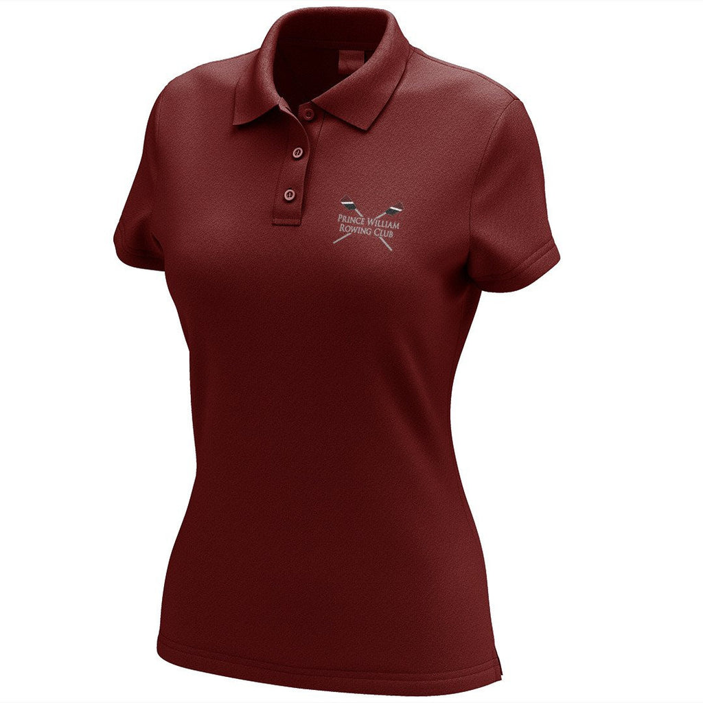 Prince William Rowing Club Embroidered Performance Ladies Polo