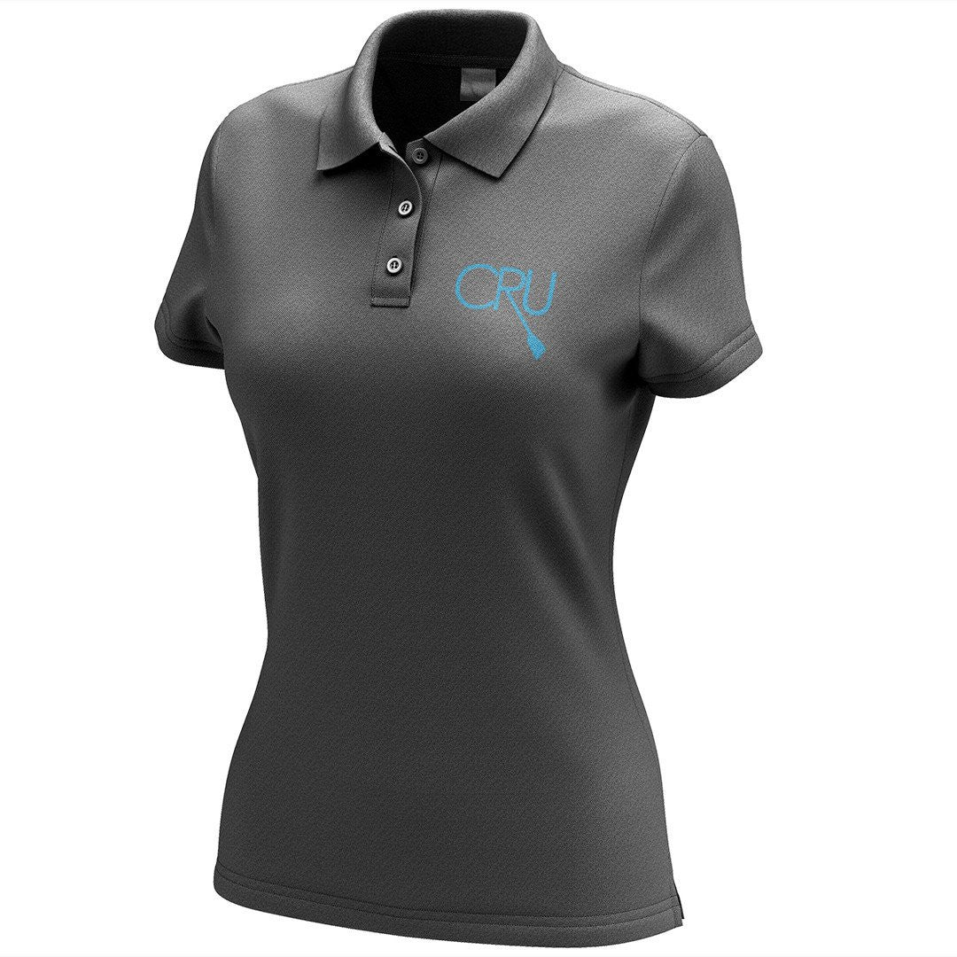 Chicago Rowing Union Embroidered Performance Ladies Polo