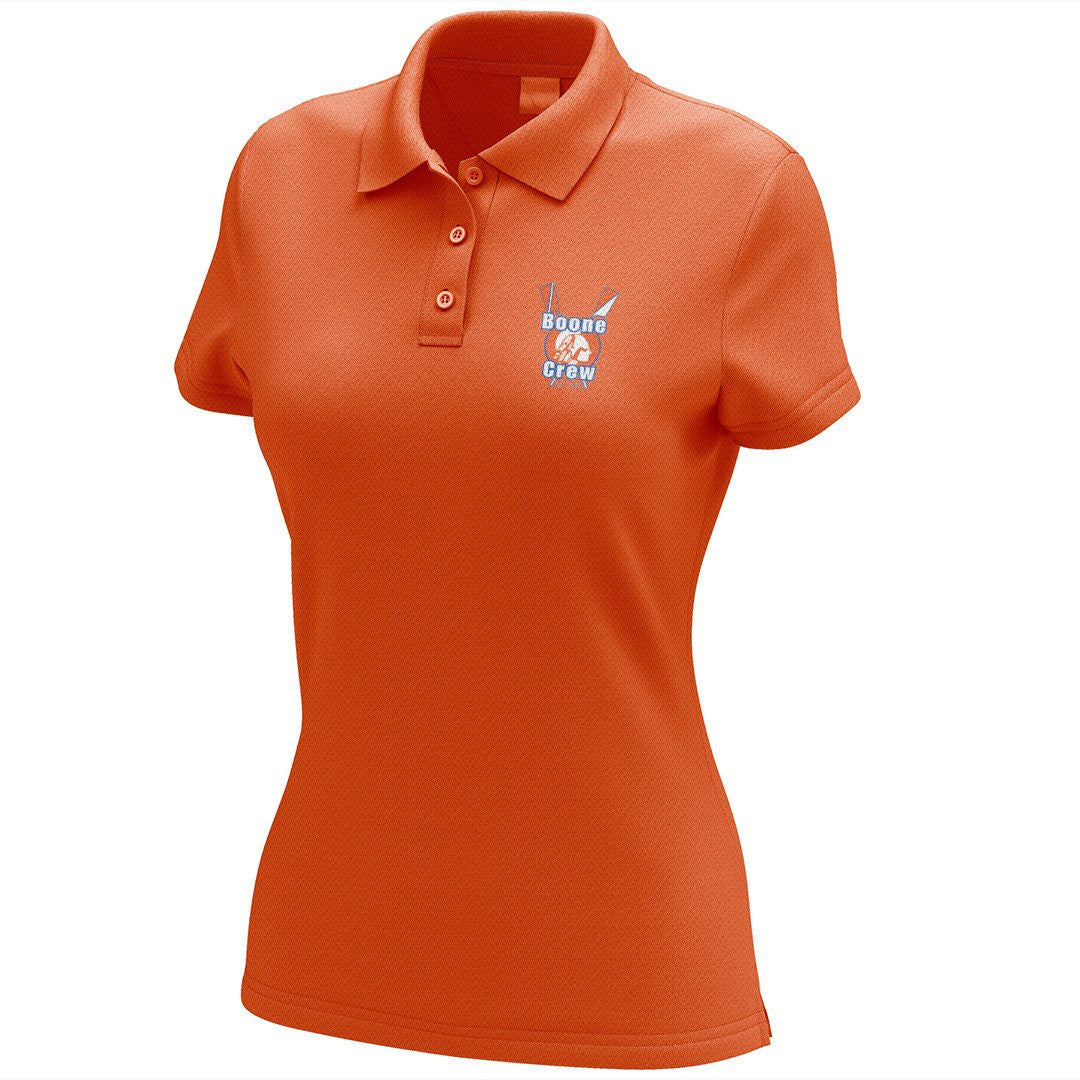 Boone Crew Embroidered Performance Ladies Polo