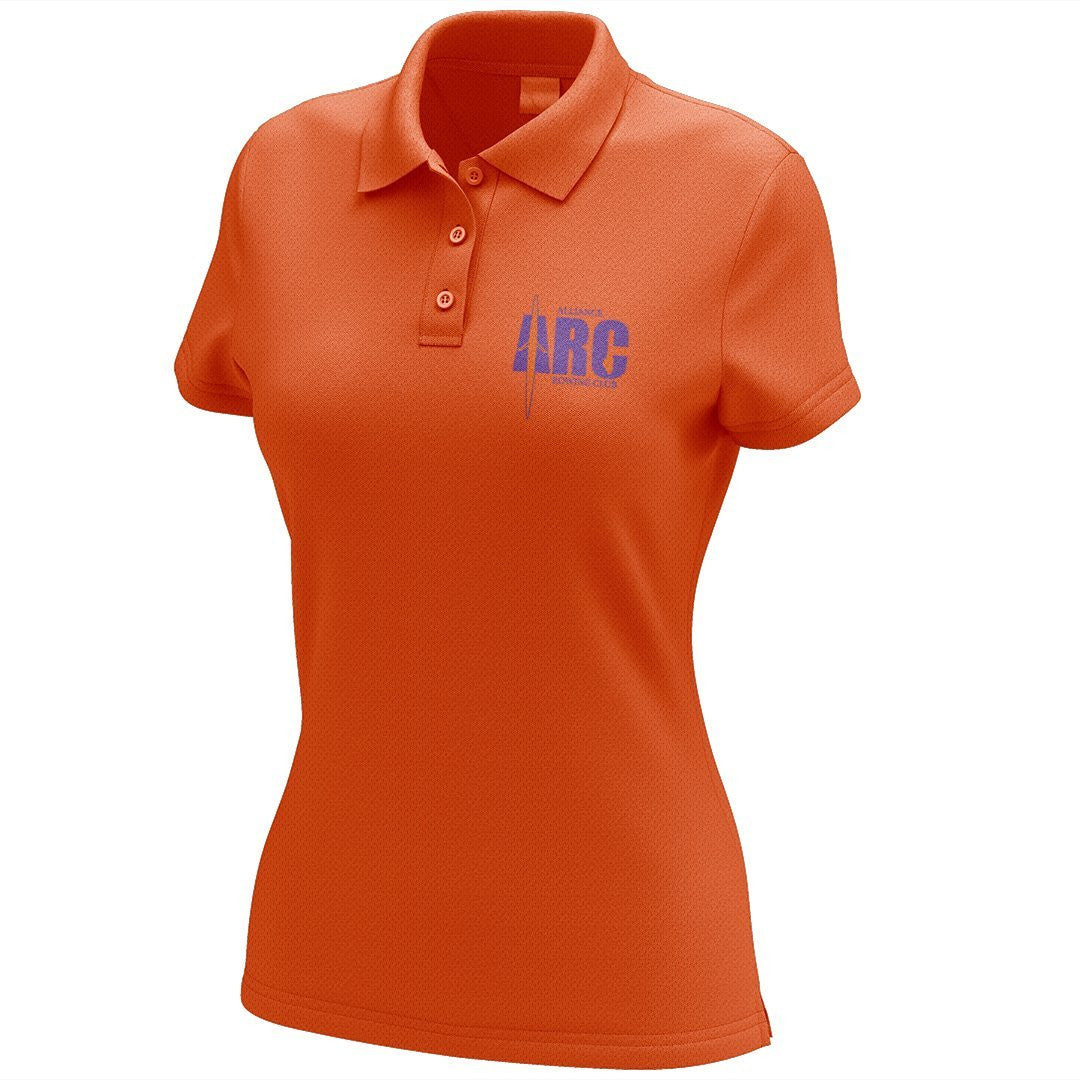 Alliance Rowing Club Embroidered Performance Ladies Polo