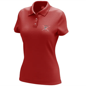 Hingham Crew Embroidered Performance Ladies Polo