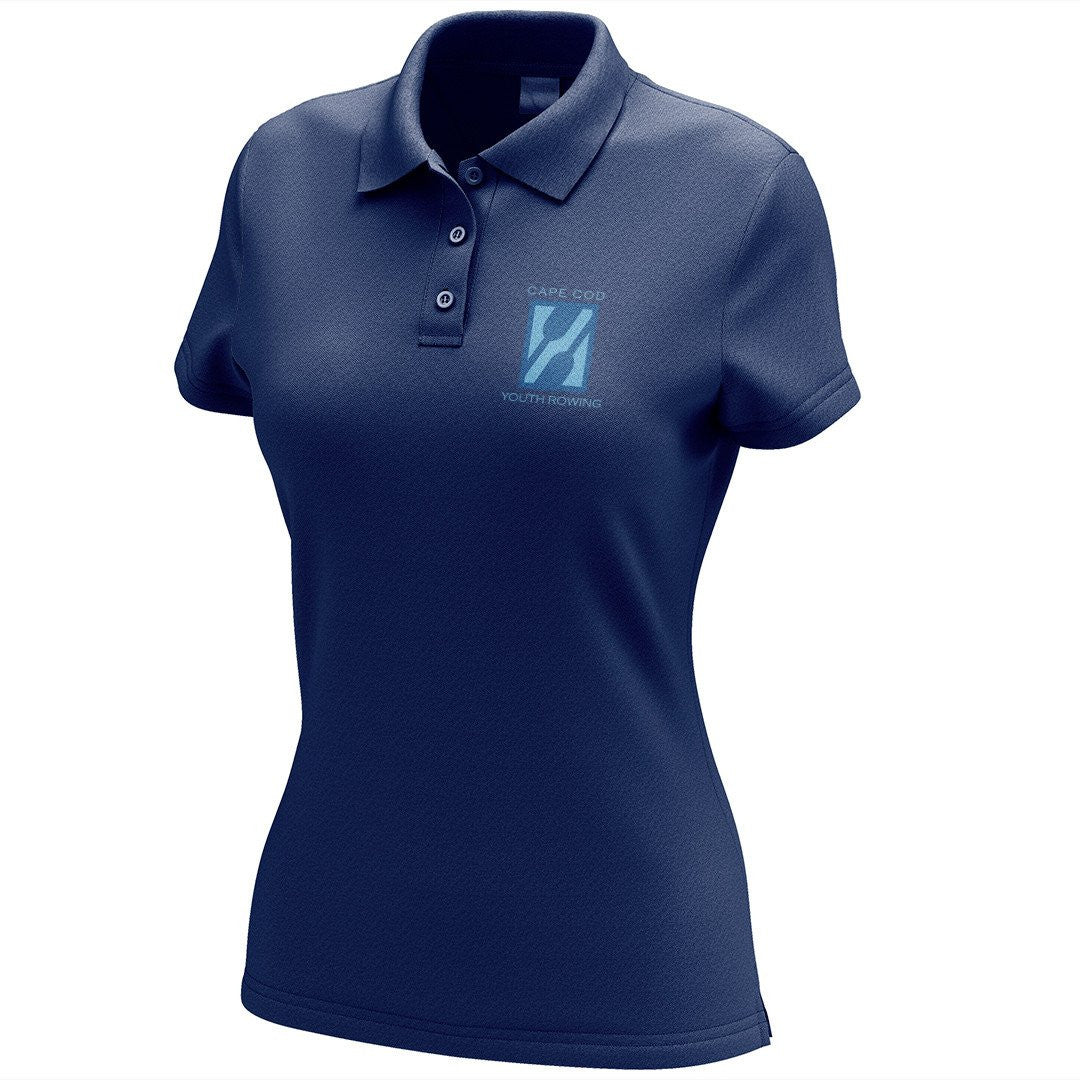 Cape Cod Youth Rowing Embroidered Performance Ladies Polo