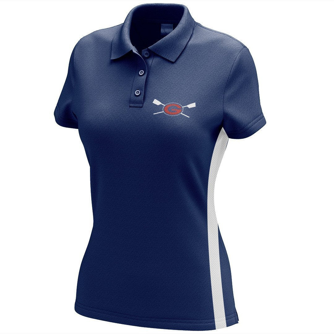 Grassfield Crew Embroidered Performance Ladies Polo