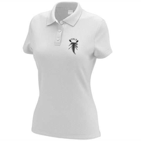 Cambridge Rindge and Latin School Crew Embroidered Performance Ladies Polo