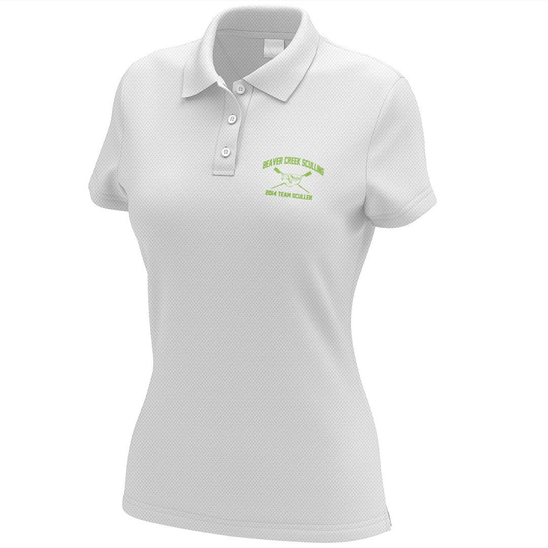 Beaver Creek Sculling Embroidered Performance Ladies Polo