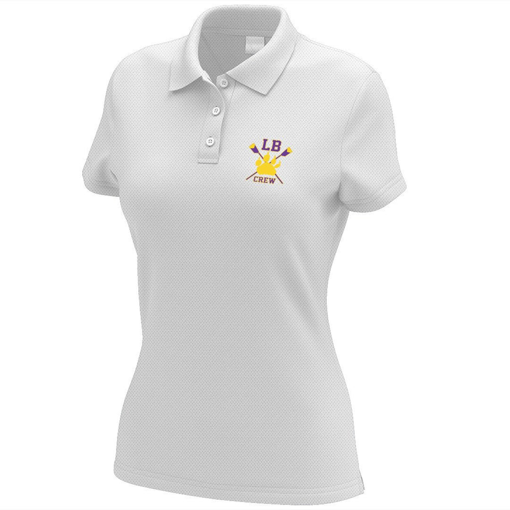 Lake Braddock Crew Embroidered Performance Ladies Polo