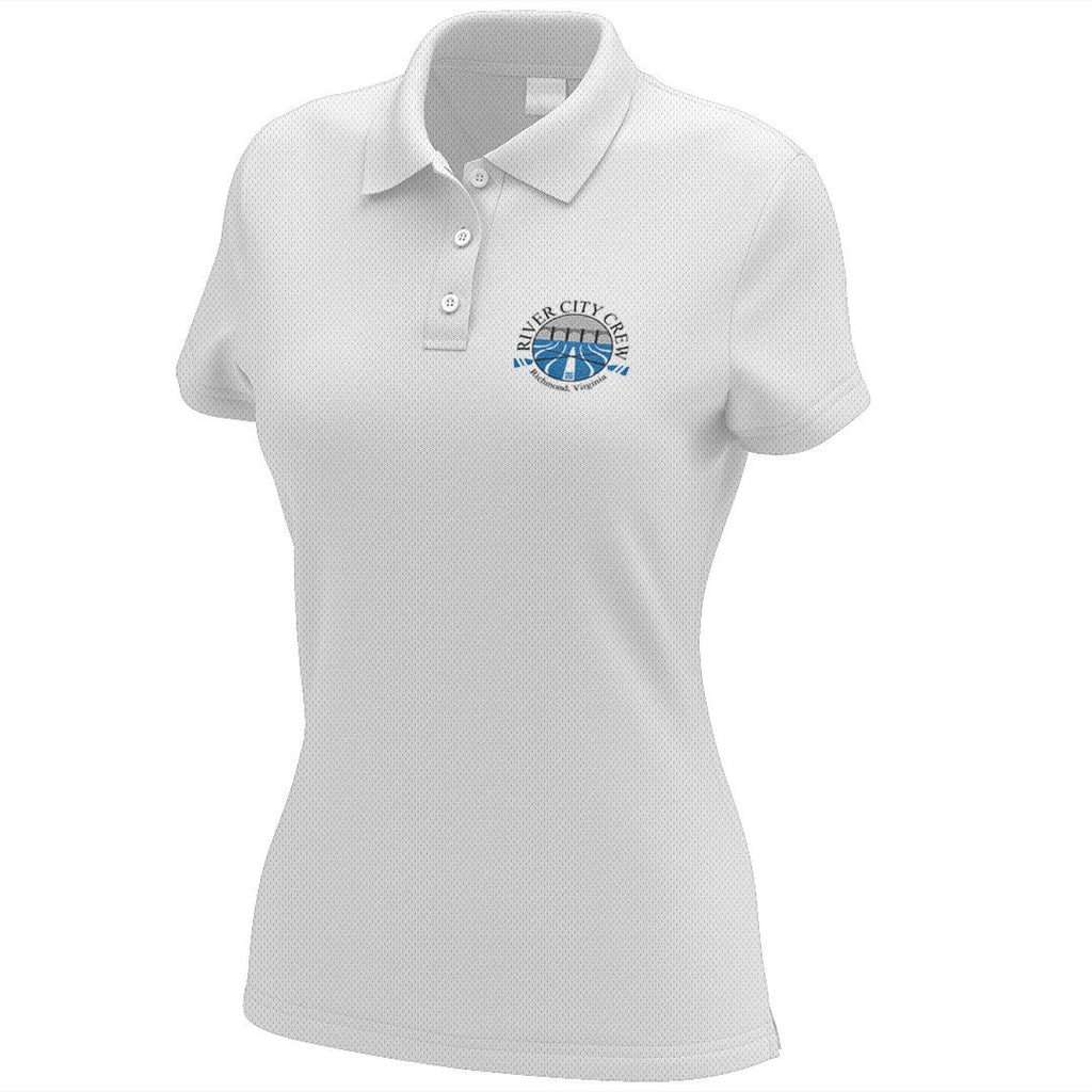 River City Crew Embroidered Performance Ladies Polo