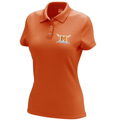 Maury Crew Embroidered Performance Ladies Polo