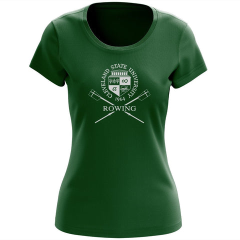 Cleveland State University Rowing Women's Drytex Performance T-Shirt