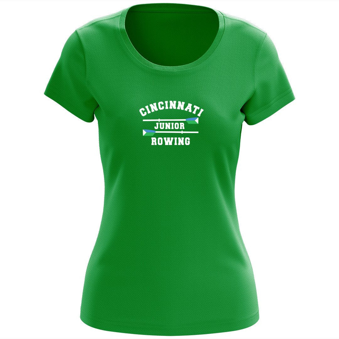 Cincinnati Juniors Rowing Club Women's Drytex Performance T-Shirt