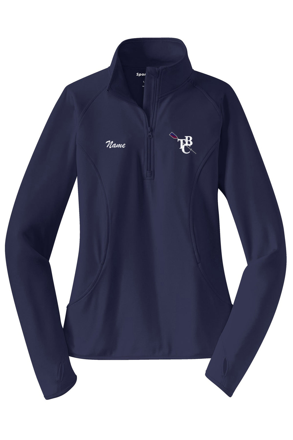 TBC Ladies Pullover Sweatshirt w/ Thumbhole