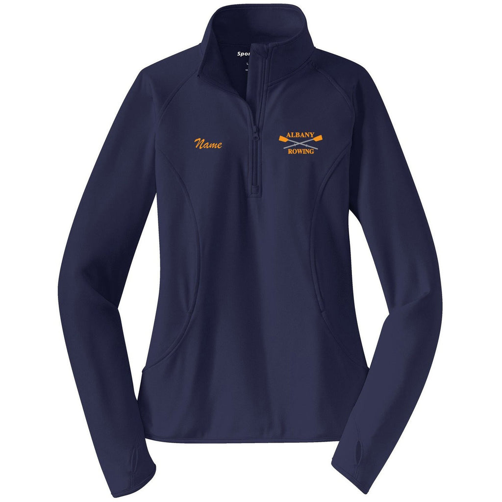 Albany Rowing Center Ladies Performance Thumbhole Pullover