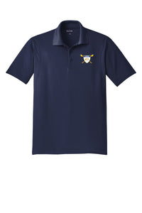 MT Lebanon Rowing Embroidered Performance Men's Polo