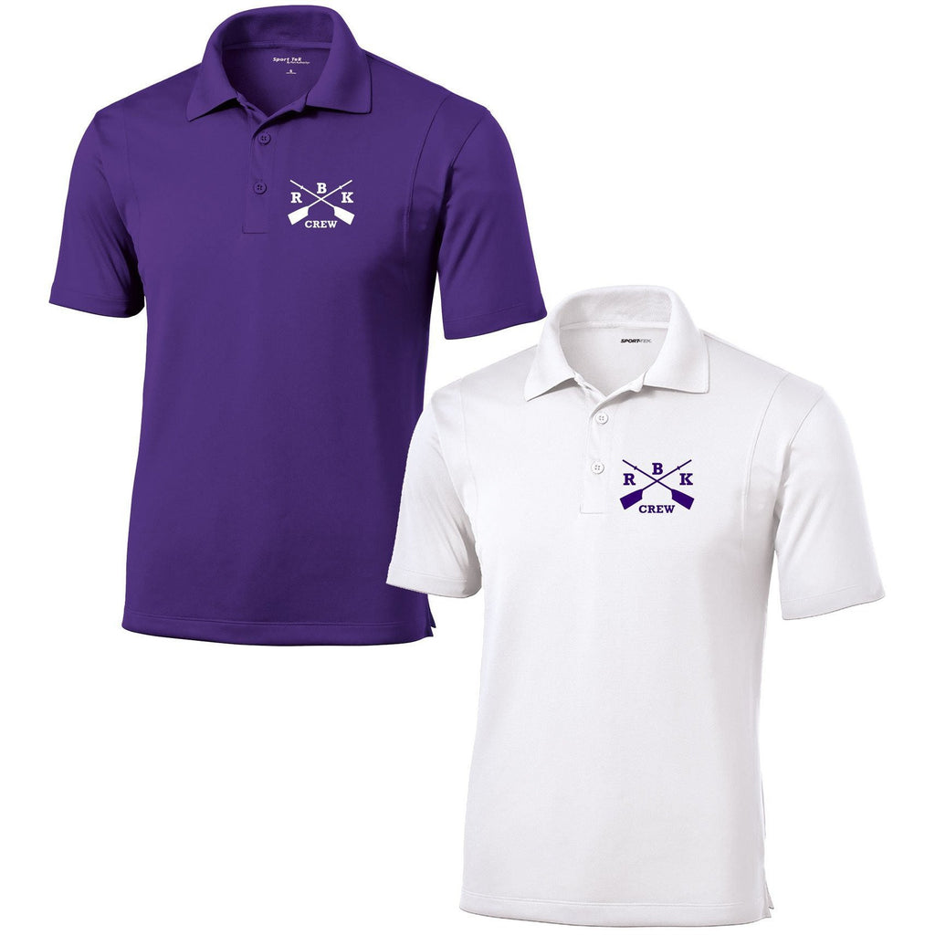 Rhinebeck Crew Embroidered Performance Men's Polo