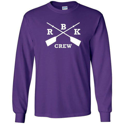 Custom Rhinebeck Crew Long Sleeve Cotton T-Shirt