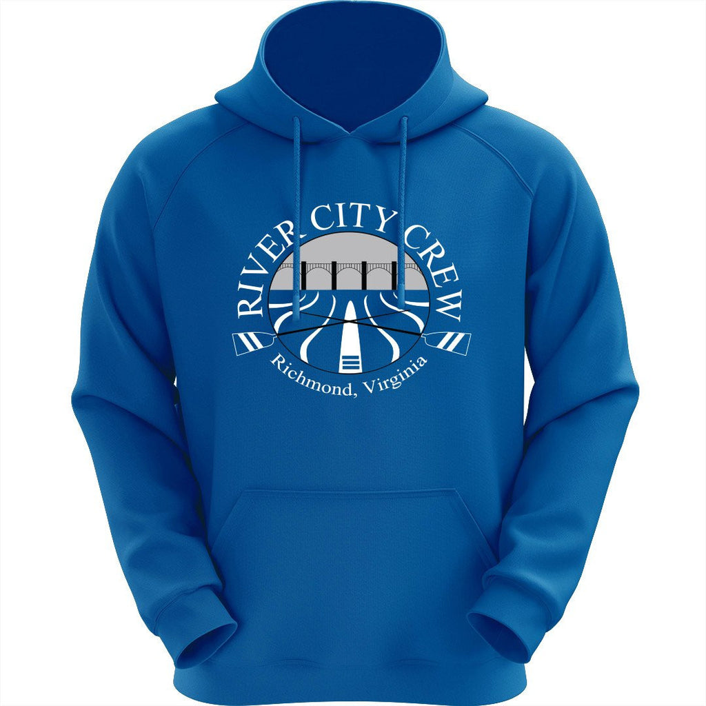50/50 Hooded River City Crew Pullover Sweatshirt