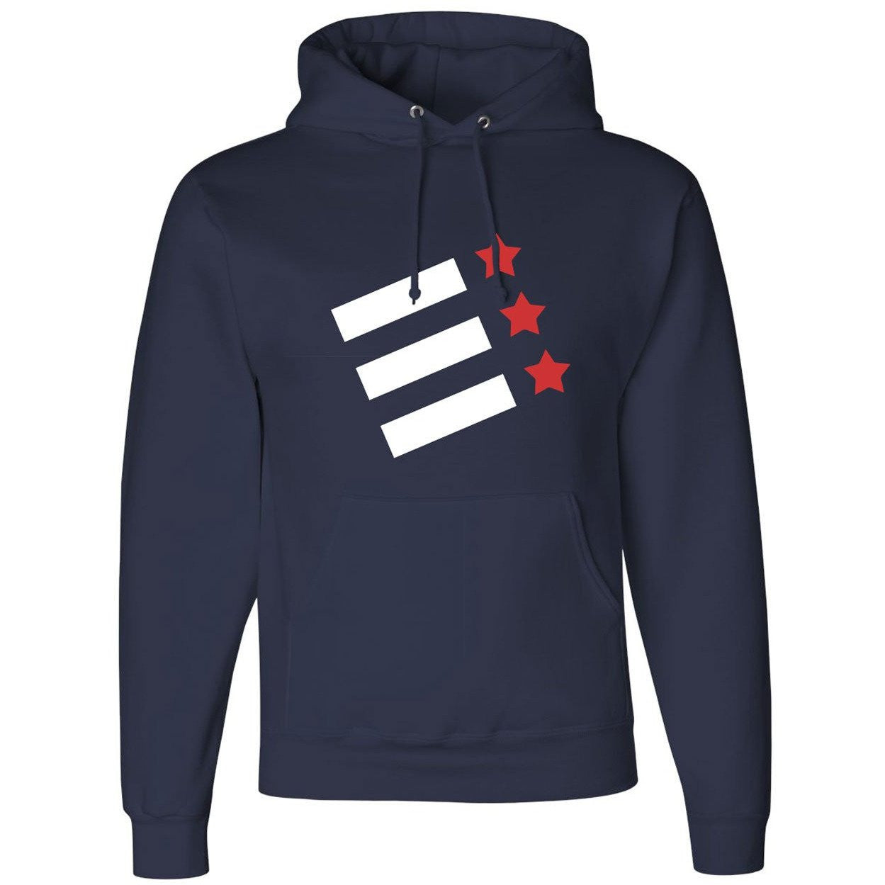 50/50 Hooded Rock Creek Rowing Pullover Sweatshirt