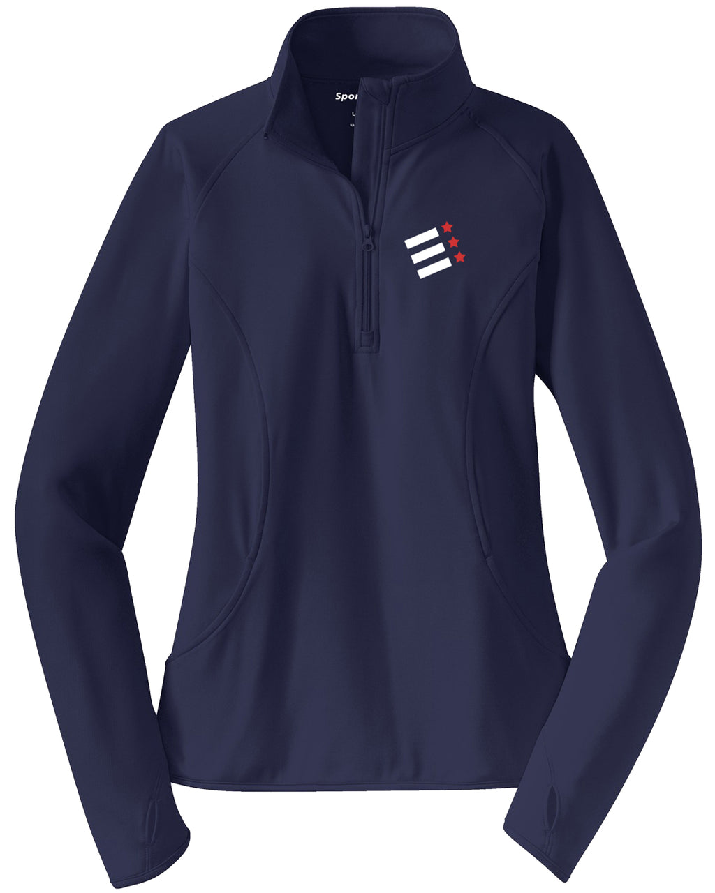 Rock Creek Rowing Ladies Performance Pullover w/ Thumbhole