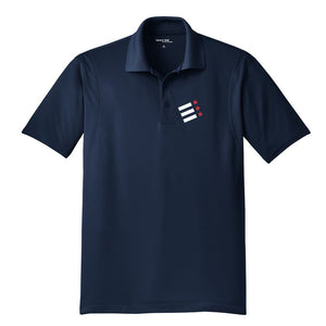 Rock Creek Rowing Embroidered Performance Men's Polo