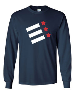 Custom Rock Creek Rowing Long Sleeve Cotton T-Shirt
