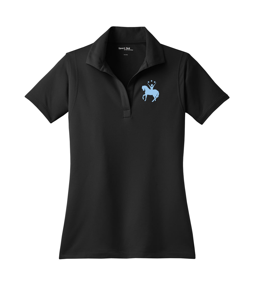 Ready Set Ride Embroidered Performance Ladies Polo