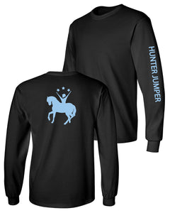 Custom Ready Set Ride Long Sleeve Cotton T-Shirt