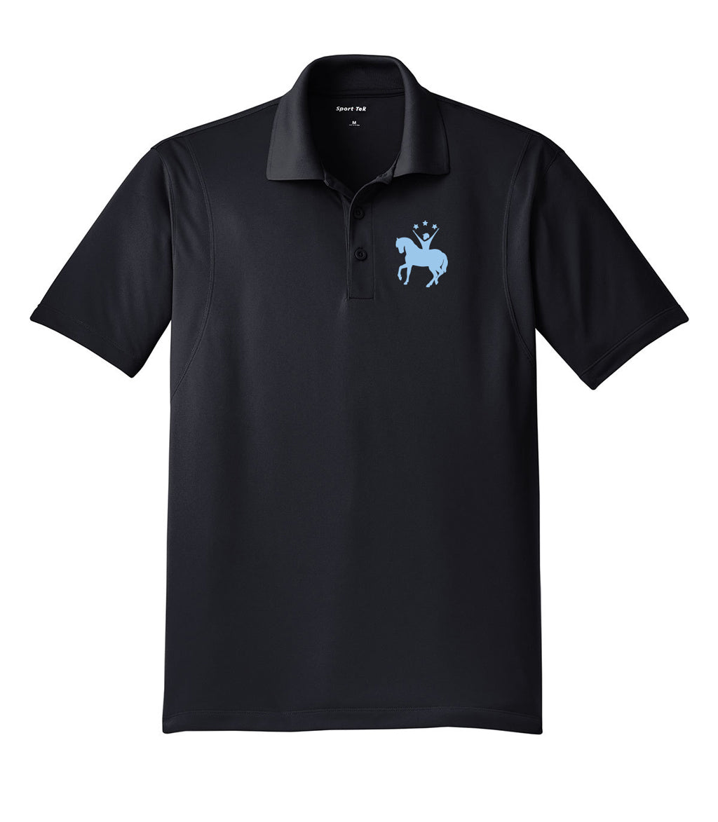 Ready Set Ride Embroidered Performance Men's Polo