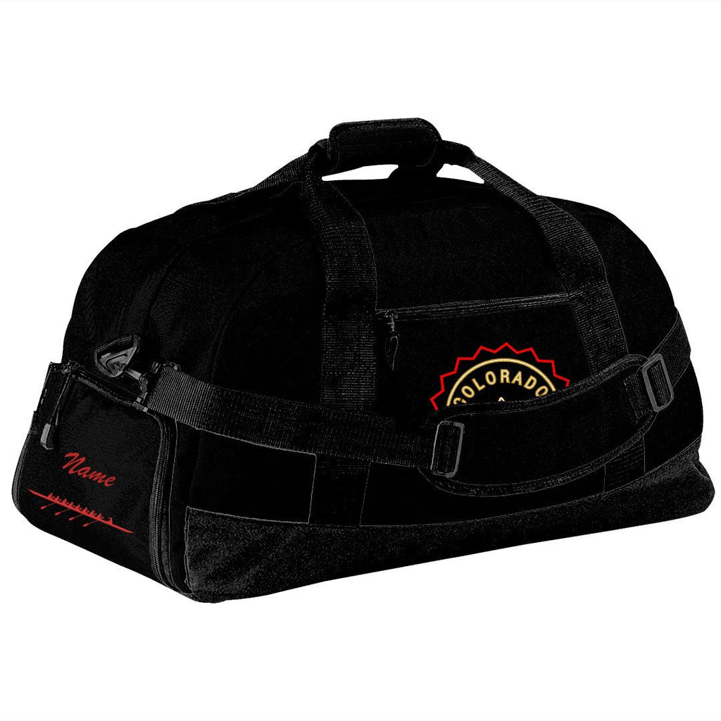 Colorado Skating Club Team Race Day Duffel Bag