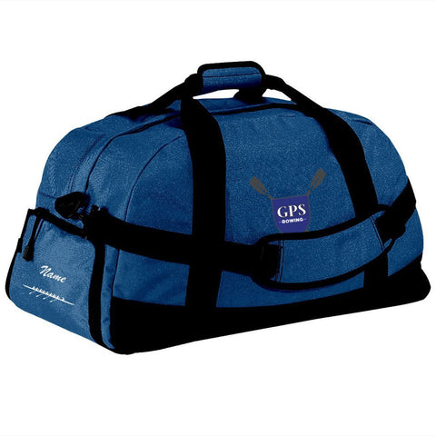 Girls Prep School Crew Team Race Day Duffel Bag