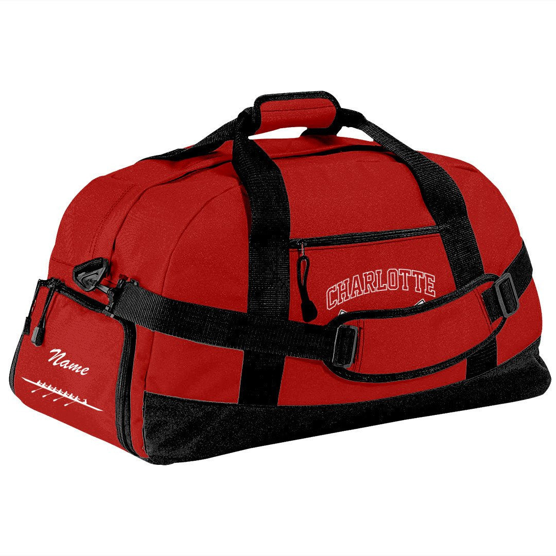 Charlotte Youth Rowing Club Team Race Day Duffel Bag