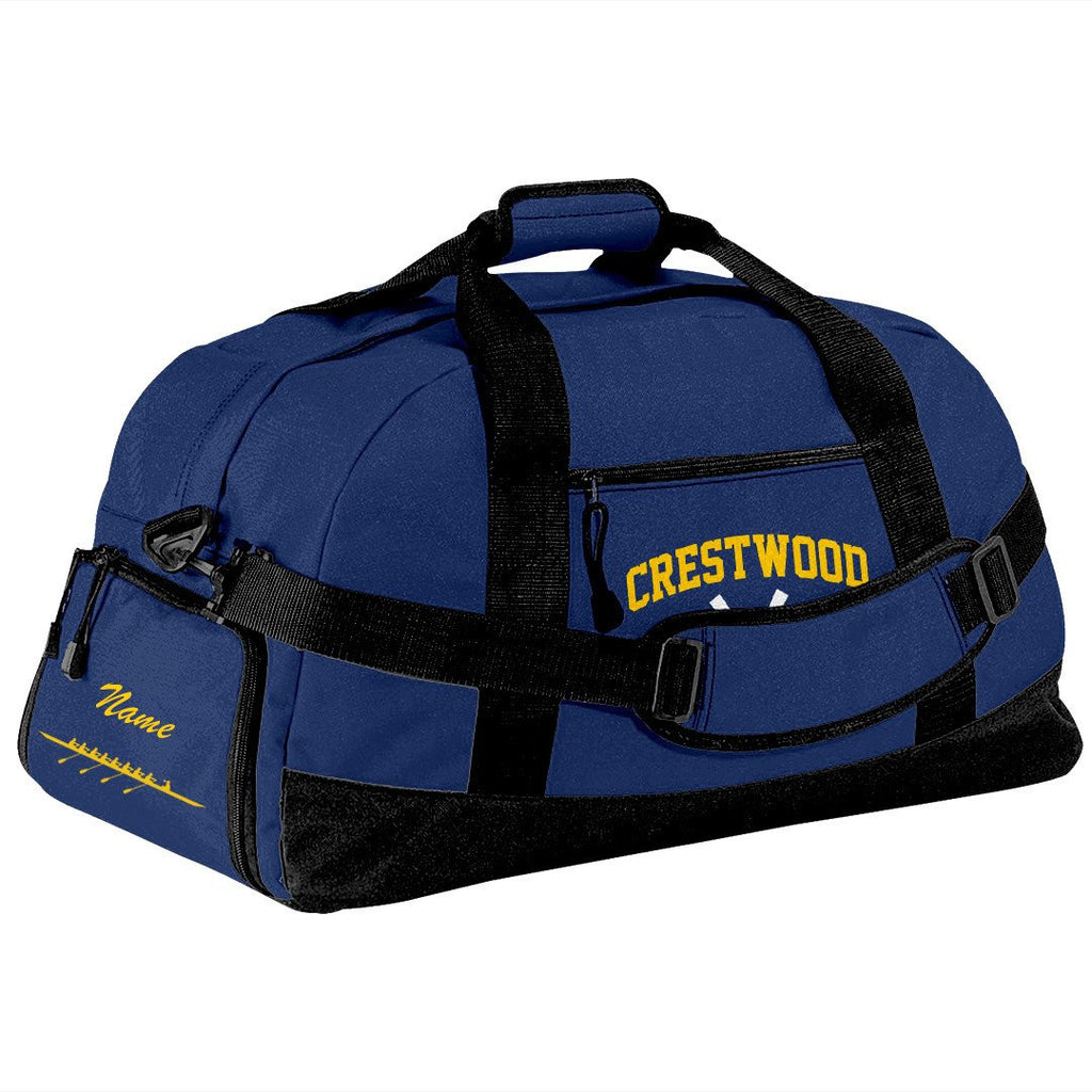 Crestwood Crew Team Race Day Duffel Bag