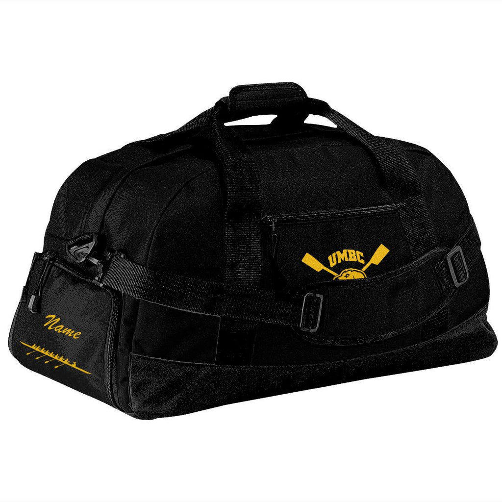 UMBC Crew Team Race Day Duffel Bag