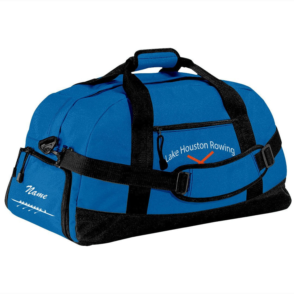 Lake Houston Rowing Team Race Day Duffel Bag