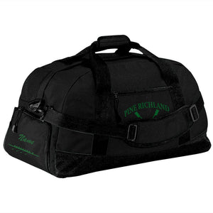 Pine Richland Crew Team Race Day Duffel Bag