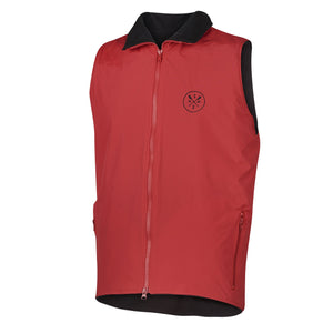 SxS Nylon Fleece Vest (Red)