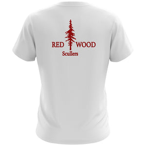 Redwood Scullers Cotton SS T-shirt White