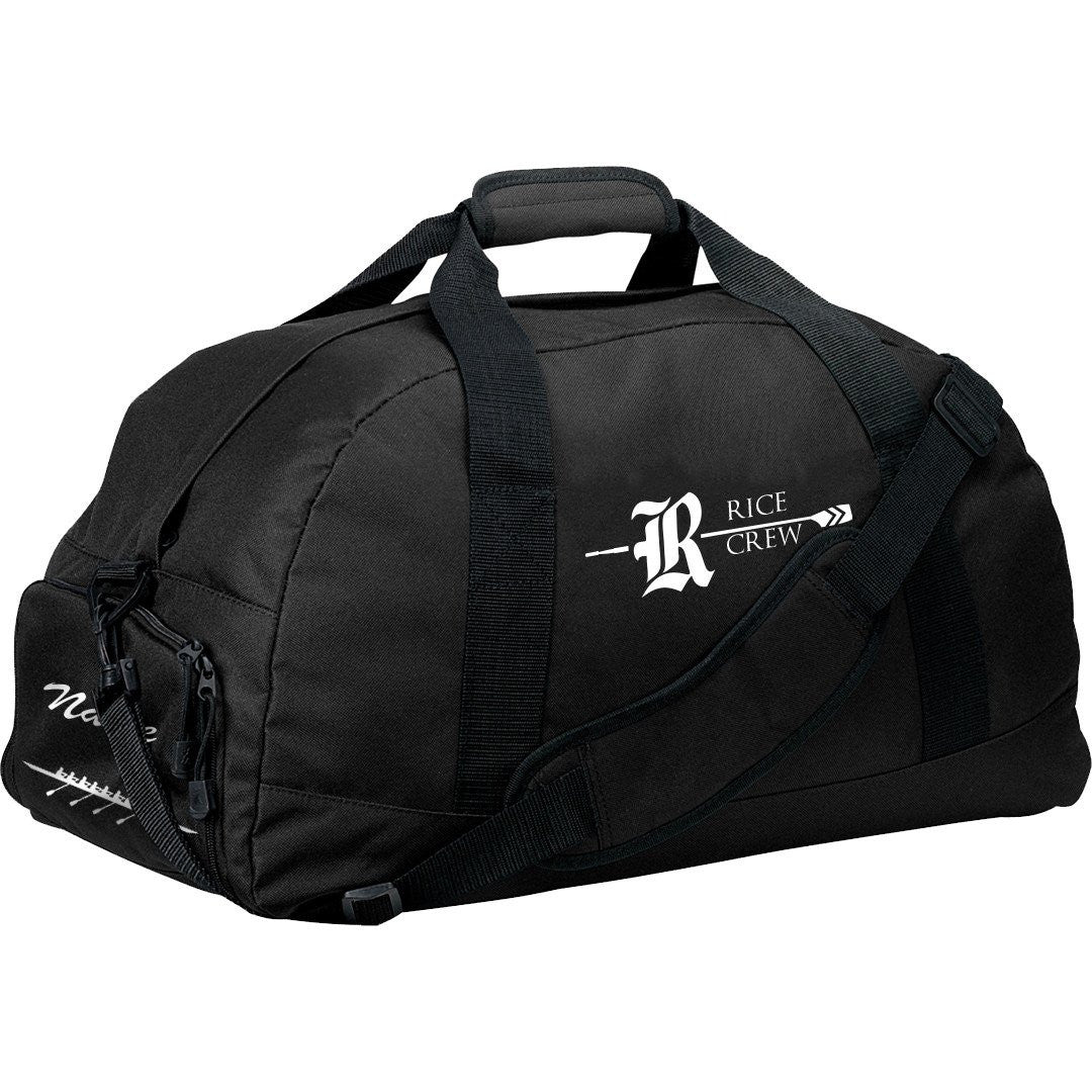 Rice Crew Team Race Day Duffel Bag