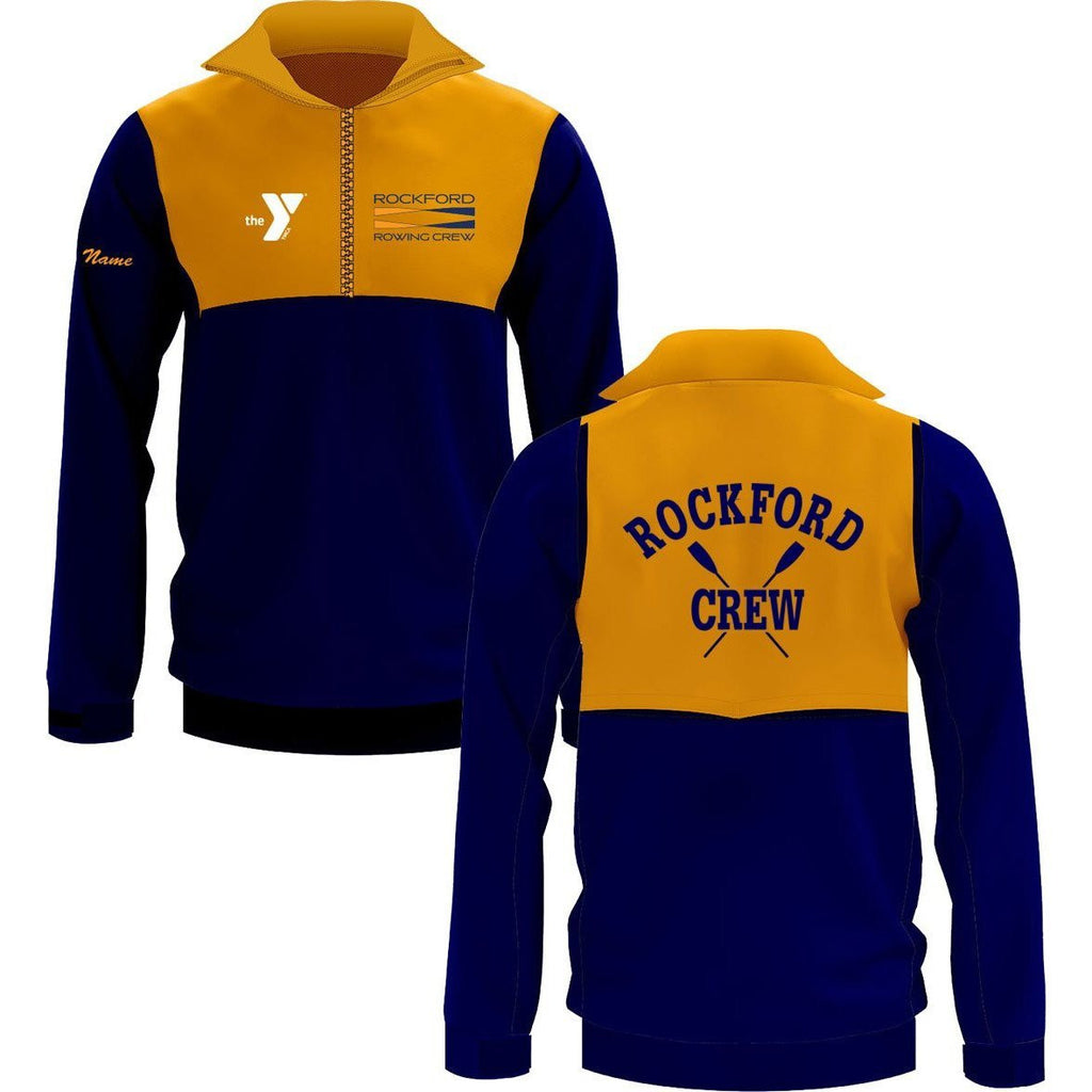Rockford YMCA Rowing Crew Hydrotex Lite Splash Jacket