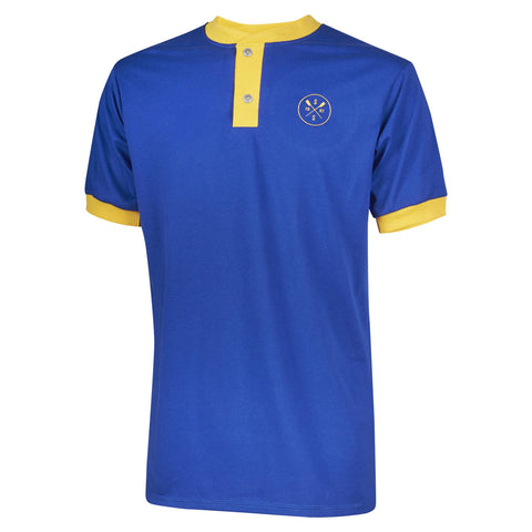 Sew Sporty Cotton Henley (Royal Blue)