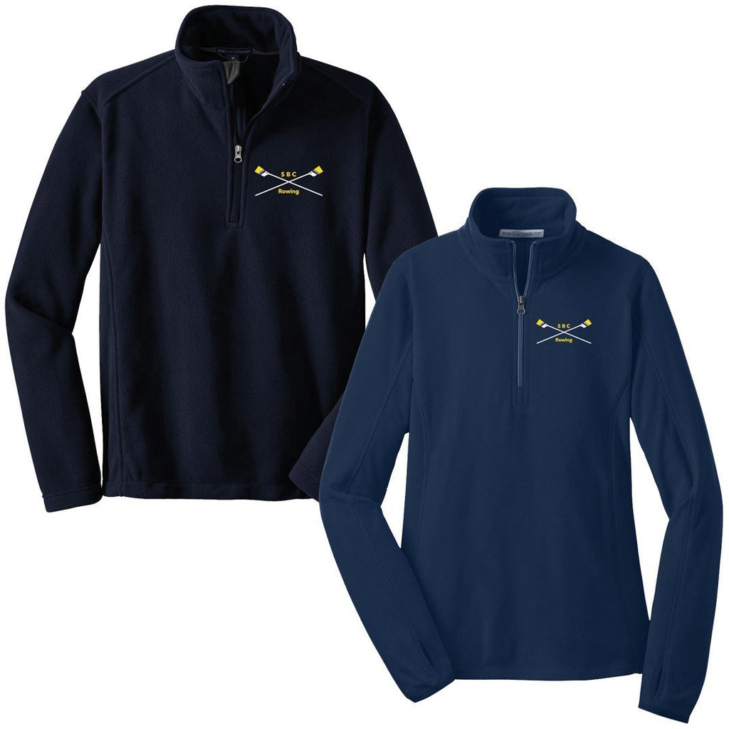 1/4 Zip South Bend Community Rowing Fleece Pullover