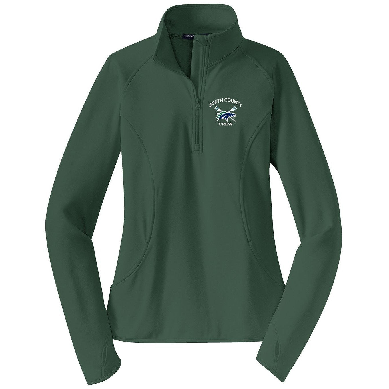 South County Crew Ladies Performance Thumbhole Pullover