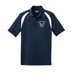 South County Crew Embroidered Performance Men's Polo