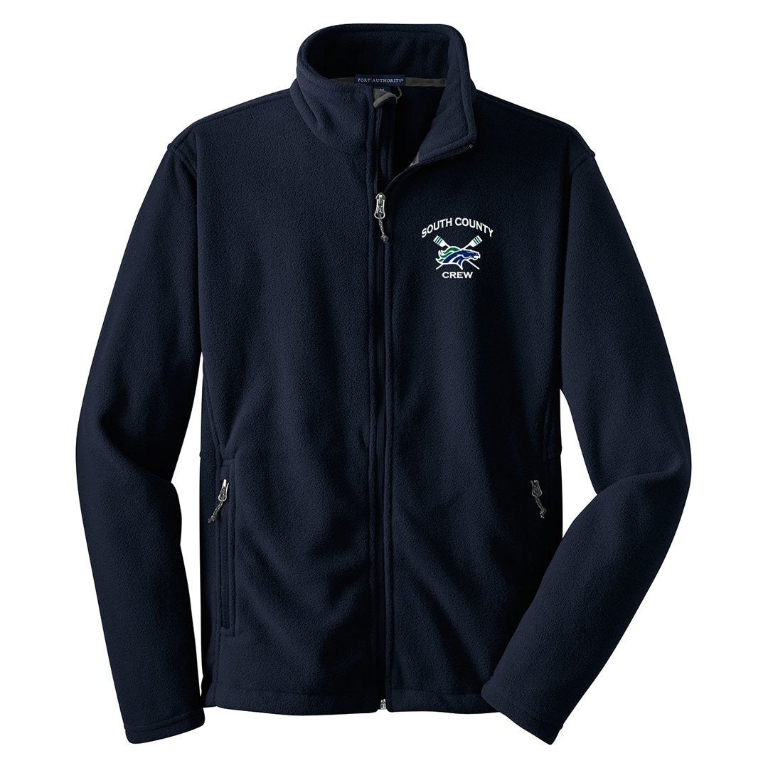 Full Zip South County Crew Men's Fleece Jacket